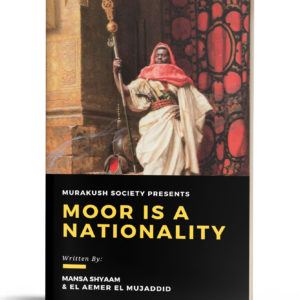 Moor Is A Nationality