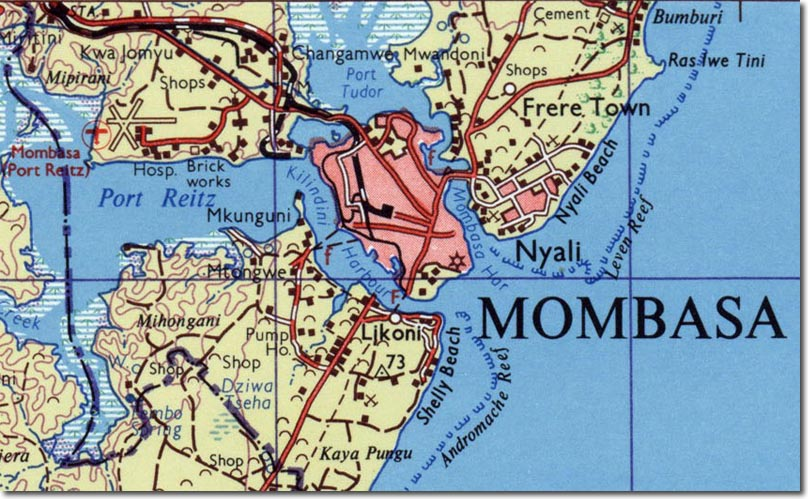Mombasa means City of the Moors