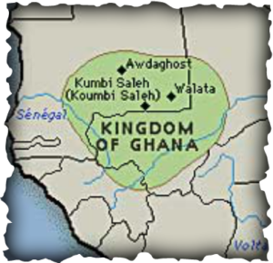 Ancient Ghana: Soninke tribes were ruled by the Maga, a Berber clan from Morocco