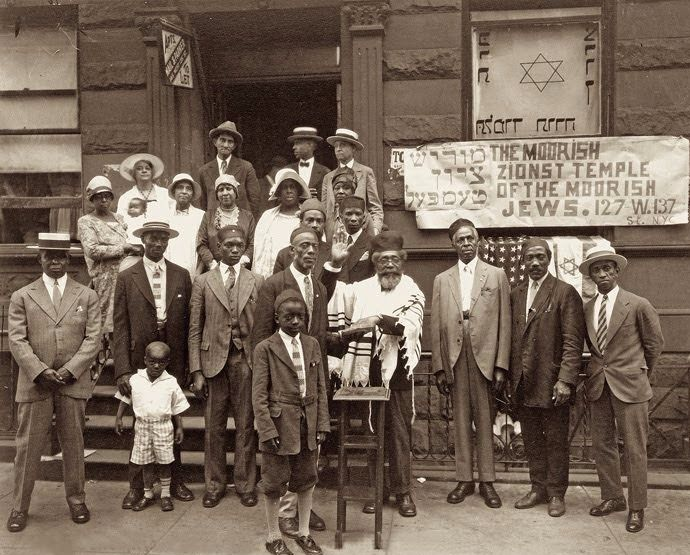 The 1899 Moorish Zionist Temple founded (3 decades) after the United States Civil War