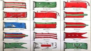 "Moorish Origins of ""Flags"" As ""National Device Standards"""