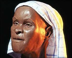 The face of the First known American, Lucia
